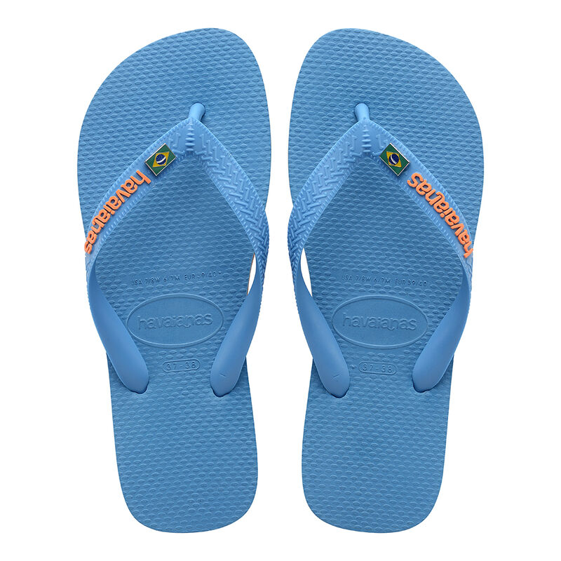 Brazil Layers Flip Flops, TURQUOISE, hi-res image number null