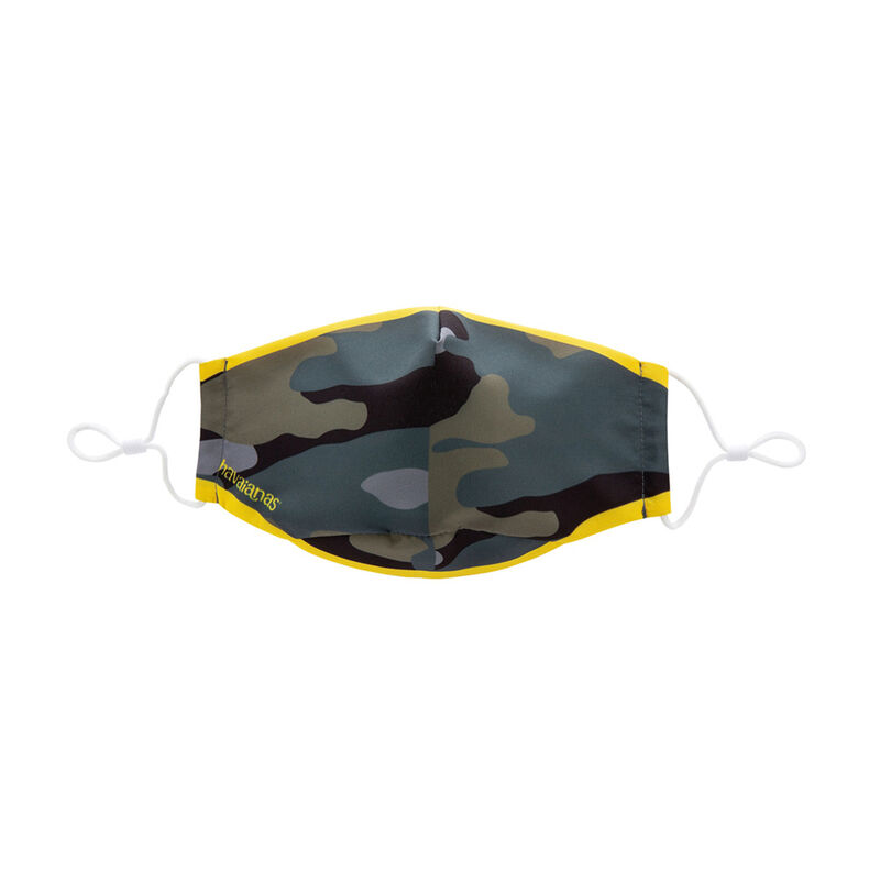 Cloth Mask, BLACK/YELLOW, hi-res image number null