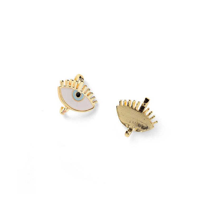 Good Vibes Claw Pin Top 2, WHITE/GOLDEN, hi-res image number null