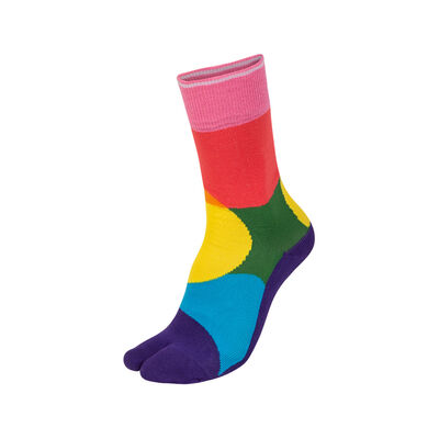 Pride Toe Socks Multicolor